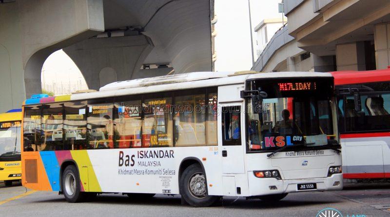 Maju Higer KLQ6128G (JNX5558) - Route IM17