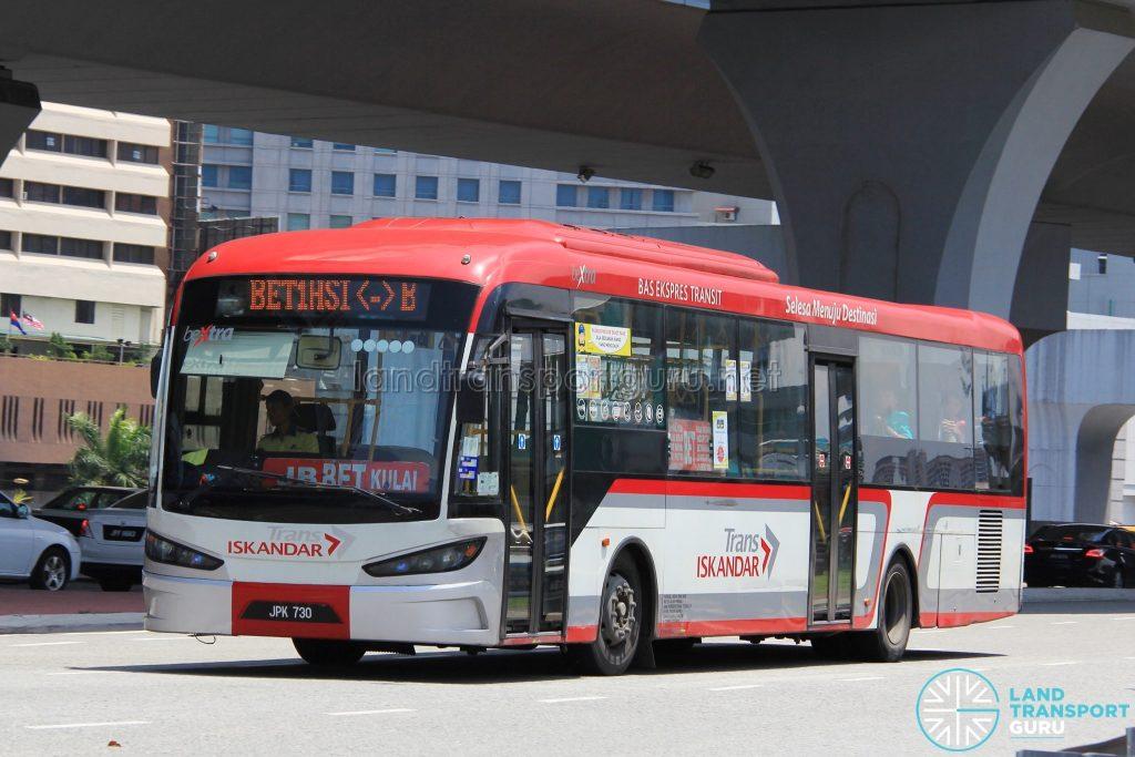 Causeway Link SKSbus SA12-300 (JPK730) - Route BET1
