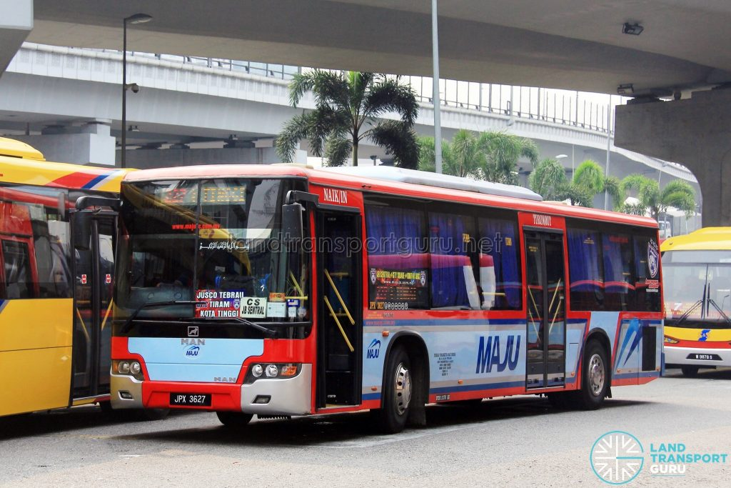 Maju Higer KLQ6128G (JPX3627) – Route 227