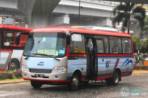 Maju Higer KLQ6729AR (JPY1737) - Route 225