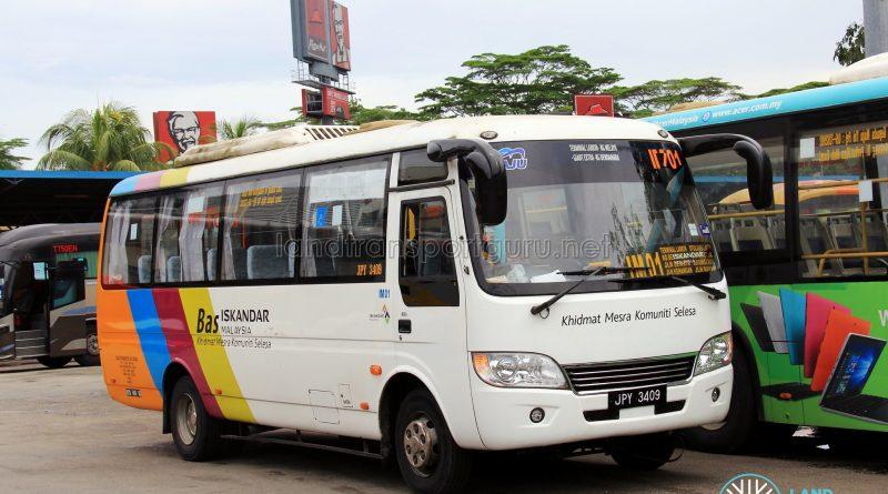 Maju Higer KLQ6729AR (JPY3409) - Route IM01
