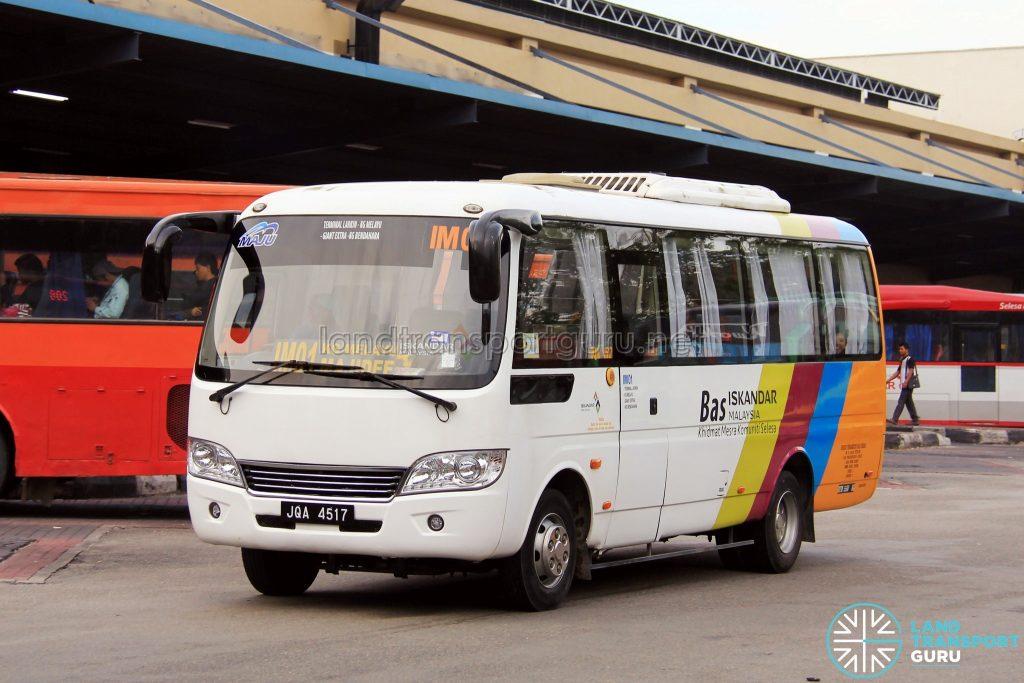 Maju Higer KLQ6729AR (JQA4517) - Route IM01
