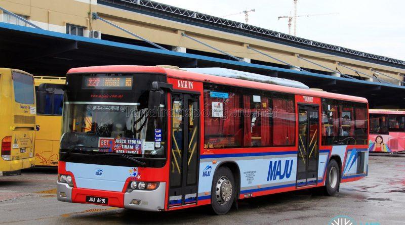 Maju Higer KLQ6128G (JQA4691) – Route 227 / BET2
