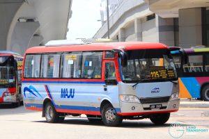 Maju Higer KLQ6729AR (JQB3526) - Route 225