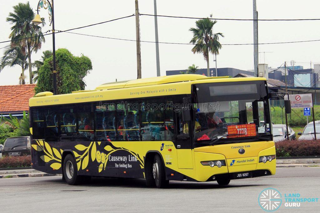 Causeway Link Yutong ZK6118HGA (JQS8267) - Route 777B