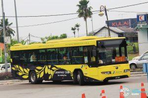 Causeway Link Yutong ZK6118HGA (JQT5728) - Route 7B
