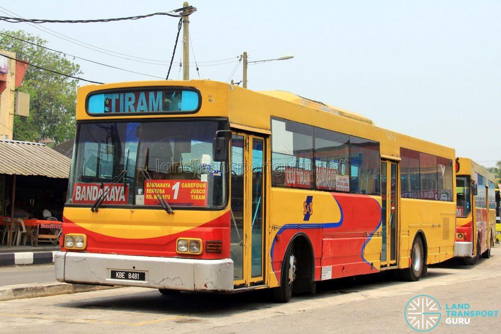 S&S International Nissan Diesel JP251 (KBE8481) - Route 1