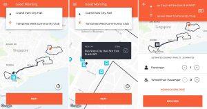 ODPB NB - BusNow App - Booking Start/Endpoint Procedure