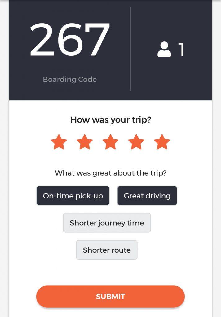 ODPB NB - BusNow App - Rate Journey