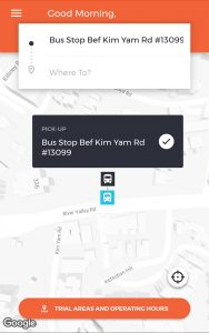 ODPB NB - BusNow App - Wrong Bus Stop Location