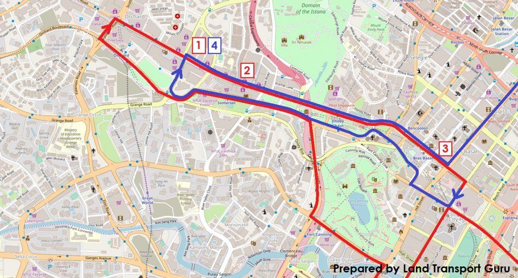 ODPB NB - BusNow App Long Routing around CBD / City Area