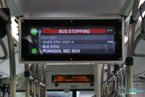 Interior PIDS (Bus Stopping) - MAN A22 Euro 6