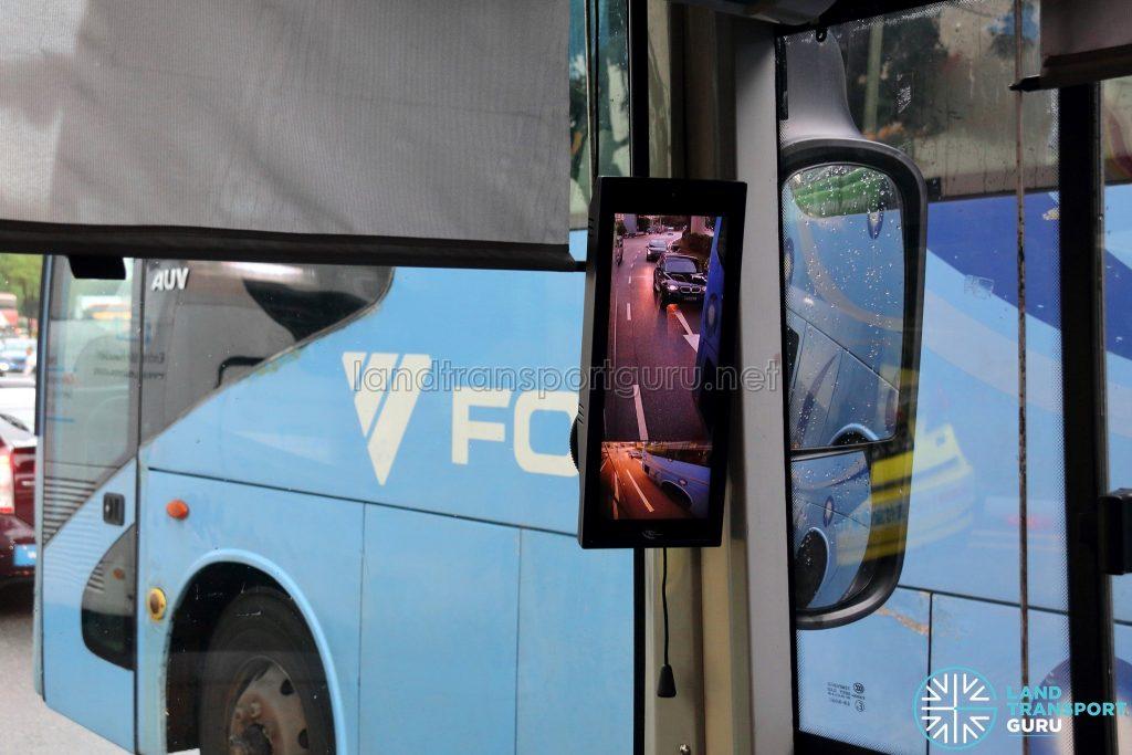 Smart-Vision Camera - Offside Display