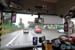 Smart-Vision Camera System installed on SMRT MAN A22 Bus