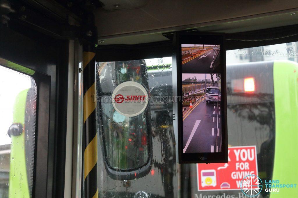 Smart-Vision Camera - Nearside Display