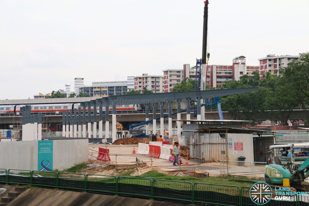 Yio Chu Kang Bus Interchange Expansion (Mar 2019)
