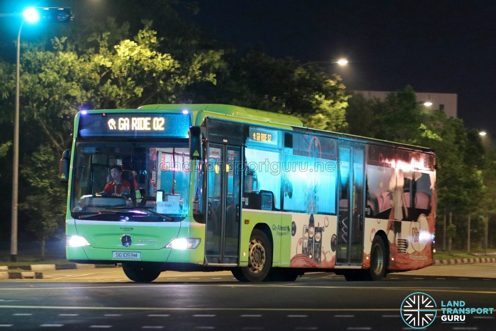 GA Ride 02 - Go-Ahead Singapore Mercedes-Benz Citaro (SG1059M)