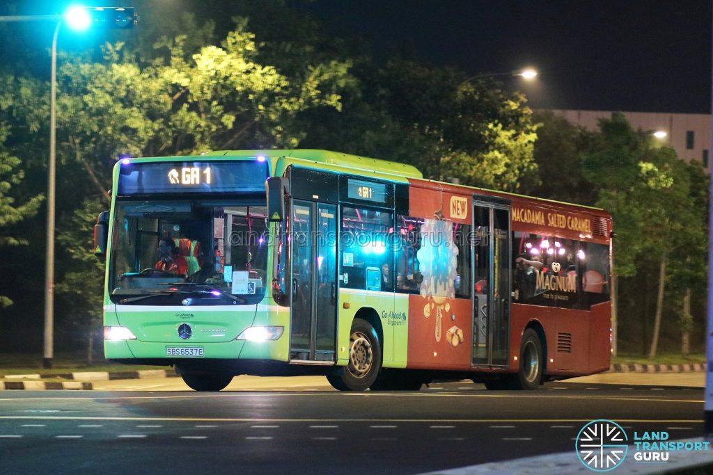 GA 1 - Go-Ahead Singapore Mercedes-Benz Citaro (SBS6537E)