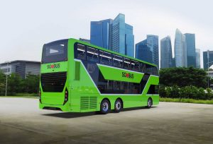 Concept rendering of ADL 3-Door Double Decker Bus (Photo: ADL)