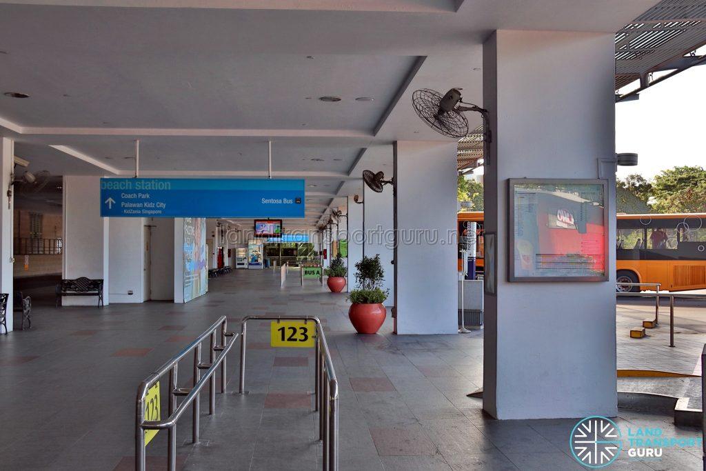 Beach Station Bus Terminal - Service 123 Berth