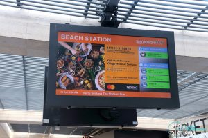 Beach Station Bus Terminal - Bus & Monorail Information Screen
