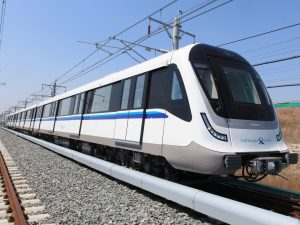 C951 train undergoing testing in China