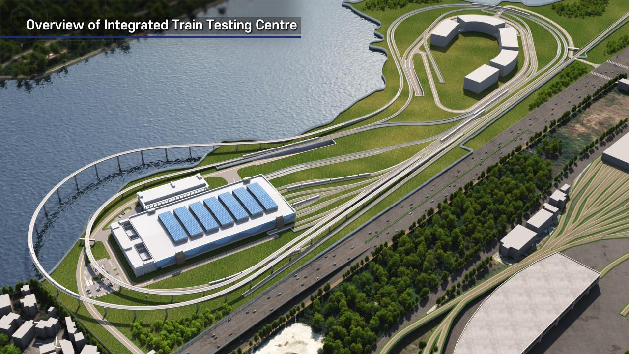 Integrated Train Testing Centre