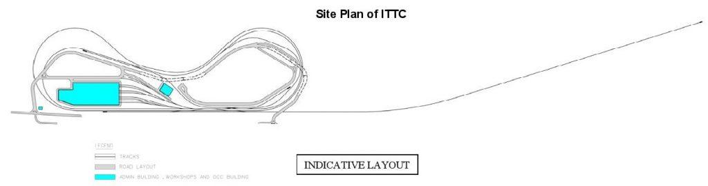 Integrated Train Testing Centre (ITTC) Site Plan - LTA