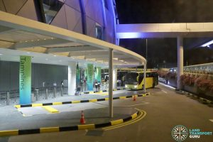 JEWEL Changi Airport - Terminal 1 Coach Stand with Free Shuttle Bus Services