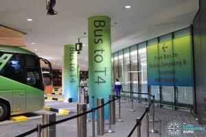 JEWEL Changi Airport - Free Shuttle Bus to Terminal 4