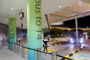 JEWEL Changi Airport - Free Shuttle Bus to Terminal 4