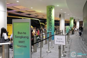 JEWEL Changi Airport - Free Shuttle Bus to Sengkang MRT Station