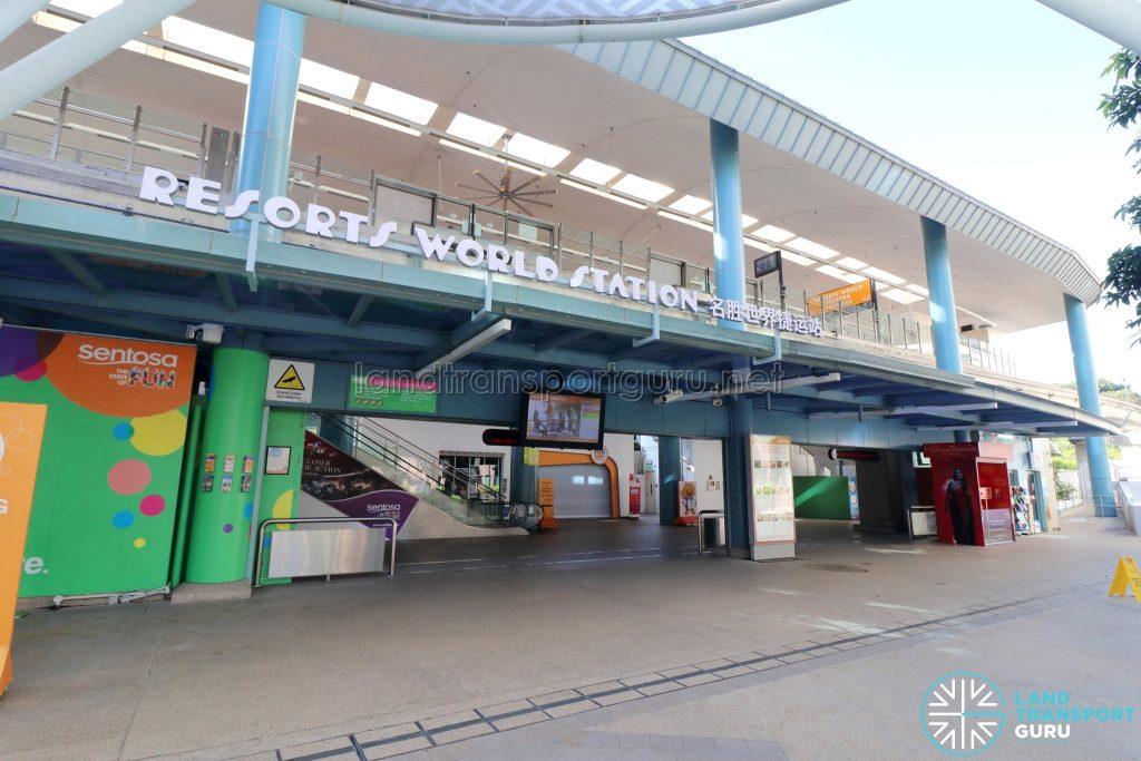 Resorts World Station - Entrance