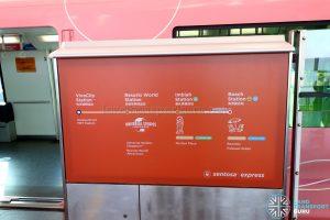 Sentosa Express - Line Map