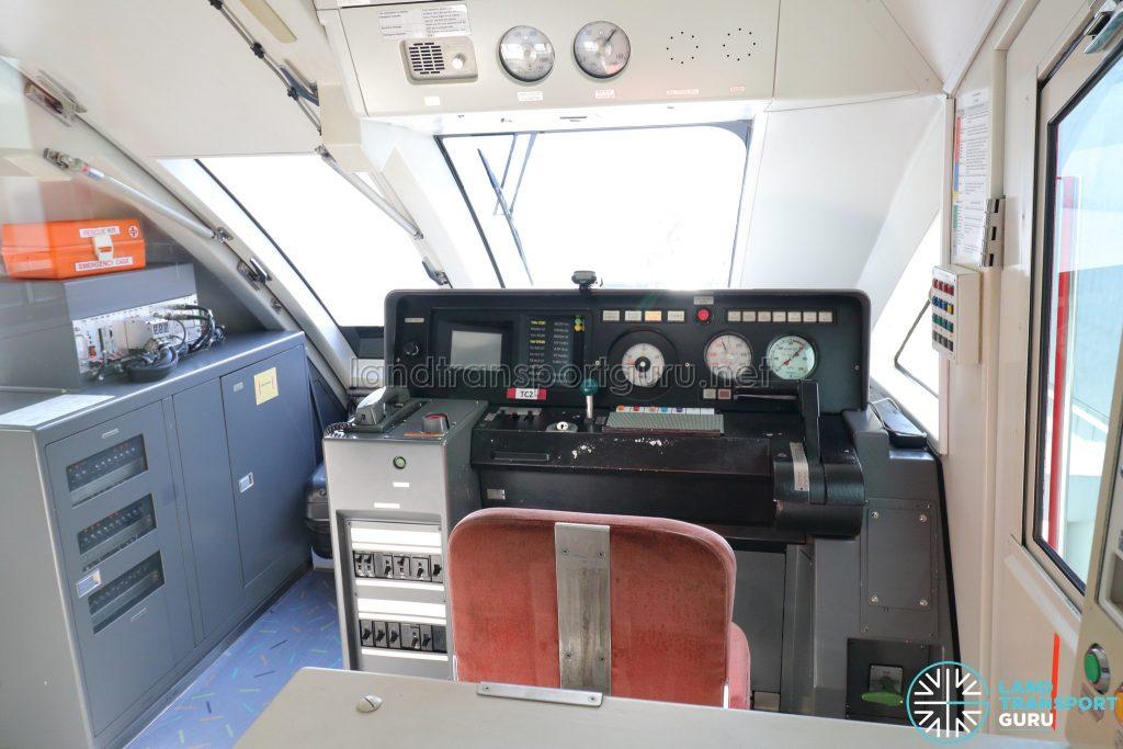 Sentosa Express Monorail - Train Operator's Cabin