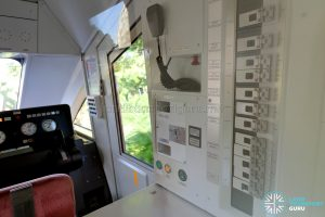 Sentosa Express Monorail - Train Operator's Cabin Controls