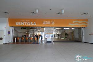 VivoCity Station - Station Faregates