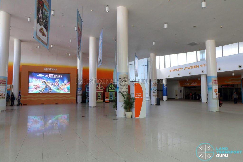 VivoCity Station - Concourse (Apr 2019)
