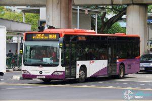 Service 858B - SMRT Buses Mercedes-Benz Citaro (SG1039X)