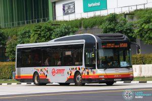 Service 858B - SMRT Buses MAN A22 (SMB1543D)