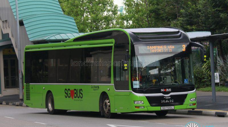 Bus 3: Go-Ahead MAN A22 (SG1720L)