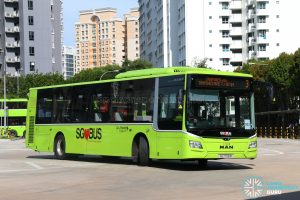 Bus 3: Go-Ahead MAN Lion's City A22 (SG1798M)