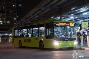 Bus 386A: Go-Ahead MAN Lion's City A22 (SG1849A)