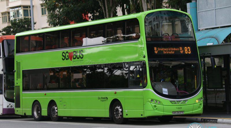 World Kindness Day - Go-Ahead Volvo B9TL (SBS3437E)