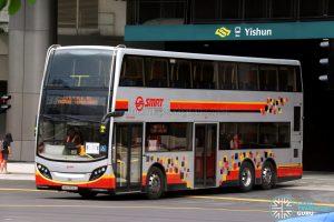 Shuttle 10 - SMRT Buses ADL Enviro500 (SMB3556D)