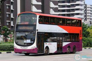 Shuttle 10 - SBS Transit Volvo B9TL Wright (SBS3889J)