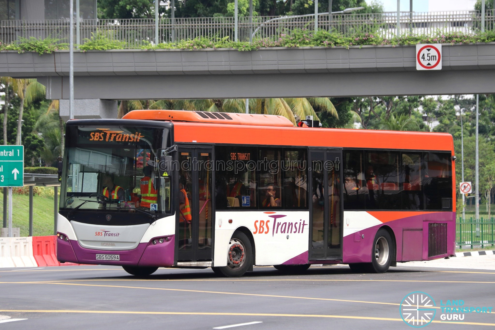 SBS Transit Logo - SBS Transit Scania K230UB Euro V (SBS5059A)