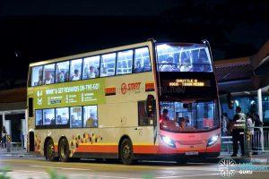 Shuttle 6 - SMRT Buses Alexander Dennis Enviro500 (SMB5060D)