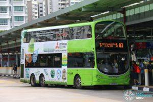 Kindness Day SG - Bus 83 Go-Ahead Volvo B9TL Wright (SG5083R)