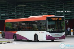 Bus 811T - SBS Transit Scania K230UB Euro V (SBS5167X)